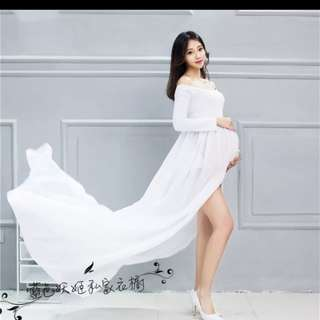 Dress for maternity photoshoot