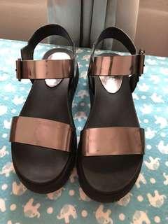 Pazzion platform sandals
