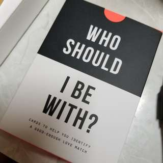 Who should I be with? By the school of life