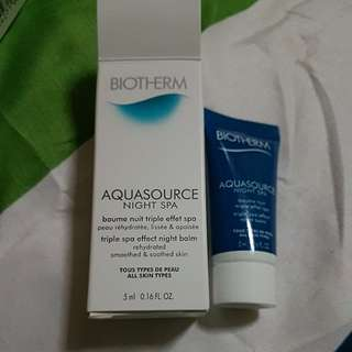 Biotherm Aquasource Night Spa