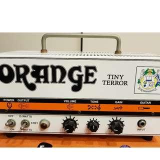 Orange Tiny Terror 15/7 Watt
