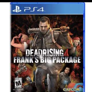 PS 4 Dead Rising 4 Frank's big packages