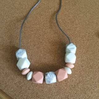 Teething Necklace - Silicone Beads