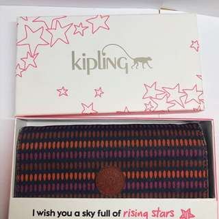 Kipling Trifold Long Wallet