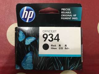 Original HP Officejet 934 black cartridge