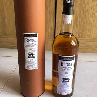 Brora 30 years - bottled 2009