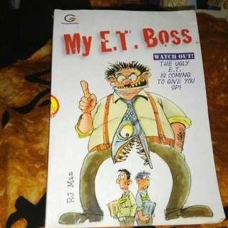 Novel My E.T Boss