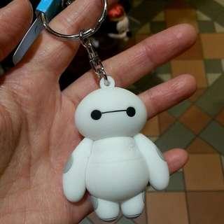 Baymax 鎖匙扣 吊飾公仔 於香港迪士尼樂園