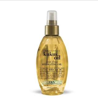 OGX Kukui Oil Anti-Frizz Hydrating Oil