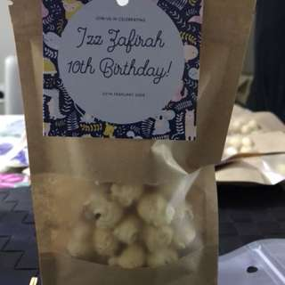 Popcorn Party Bag