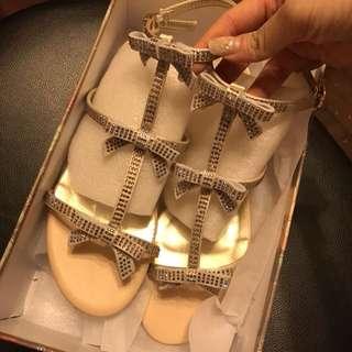(New全新) 幻彩閃石涼鞋