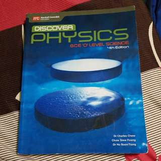 Discover Physics Textbook