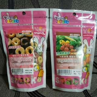 PINKIN VEGETABLE BALL 100g, DOUGHNUT 100g - 2 For $5.00