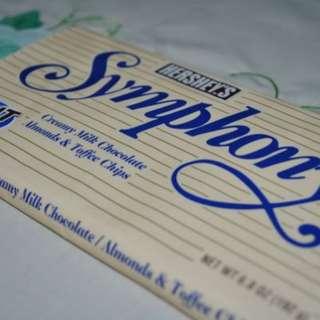 Hershey symphony almond n toffee