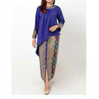batik blouse and skirt + men shirt