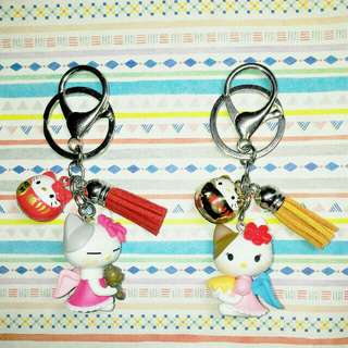 Customised / Handmade Hello Kitty Keychain / Bag Charm