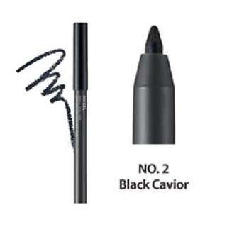 The face shop Ink Gel Pencil Liner Eyeliner Black Caviar
