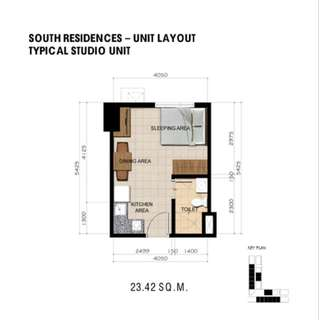 Pre selling Unit Sta mesa Area near V Mapa