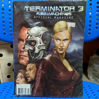 Terminator 3 first of the machines official magazine