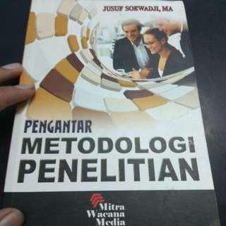 buku pengantar metodologi penelitian karangan jusuf soewadji