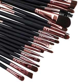 Professional Eye Makeup Brush 20 Set