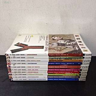 Y: The Last Man Vol 1-10