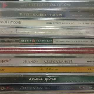 Celtic music cd albums