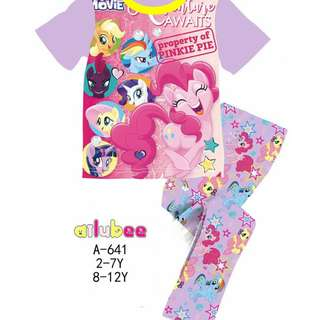Purple My Little Pony Pyjamas (Big Size)