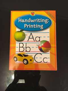 Handwriting: Printing (Preschool and up )