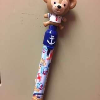 Disney duffy pen 迪士尼小熊原子筆