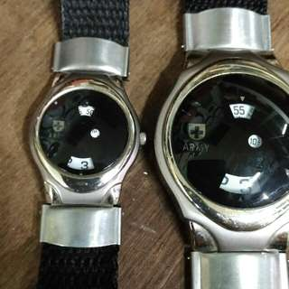 Swiss Quarts Army Couple Vintage Lawas