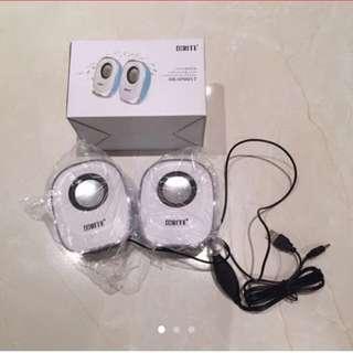Rite 2.0 white blue speaker