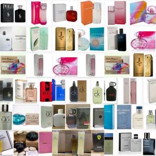 Original US Tester Perfumes for HER and HIM