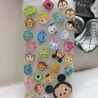 Tsum tsum iPhone 6 case 保護殼 (全新)