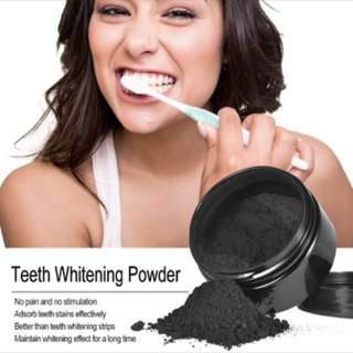 (PO)Teeth Whitening Powder Oral Activated Charcoal Teeth Stainer Remover Powder