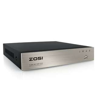 ZOSI 8Channel 720P HD-TVI Standalone H.264 CCTV Security Surveillance DVR Record System NO Hard Disk
