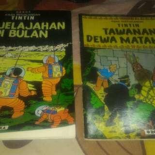 Buku Tintin Edisi Khusus