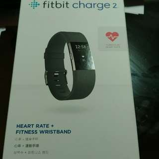 New fitbit charge 2 black large size