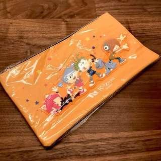 Kidzania Orange Giant Pouch Pencil Case