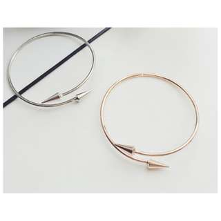 arrow bracelet rose gold or silver