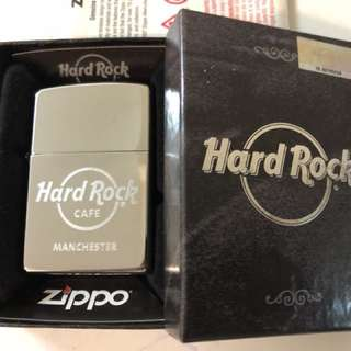 Hard Rock Cafe Manchester Zippo Lighter