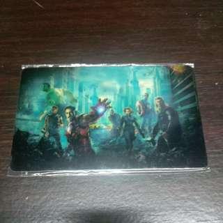 Avengers ezlink sticker free postage