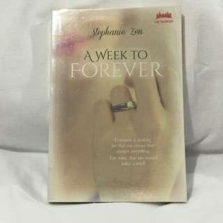 Preloved novel A week to forever