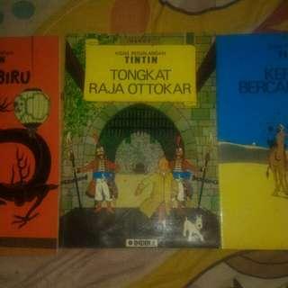 Buku komik Tintin