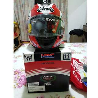 Arai RX-7 Limited Edition NSR250R Series