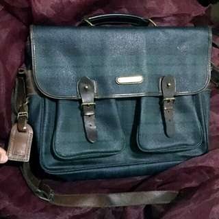 authentic Polo Ralph Lauren Laptop bag genuine leather