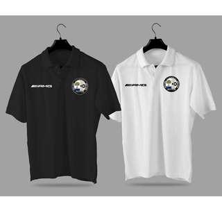 AMG Mercedes benz Polo Shirt Collar