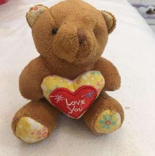 Bear with. Love you cushion