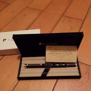 Pierre Cardin ink pen (全新未用;有盒;包郵)