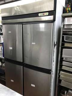 Stainless steel 4 Doors Freezer up to -20 Deg C!